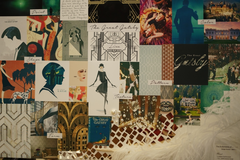 8 elements of design - The Great Gatsby