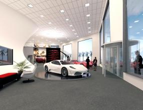 Ferrari Dealership Office by Mind Pachimsawat 1