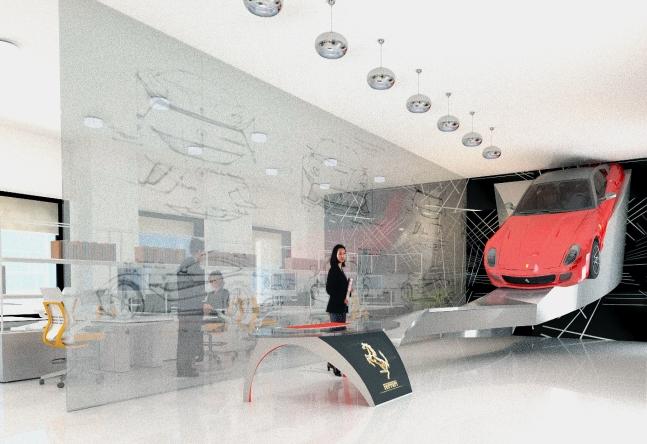 Ferrari Dealership Office by Mind Pachimsawat 6