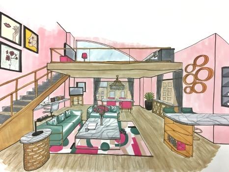 Loft Sketch 1 pt by Mind Pachimsawat 1