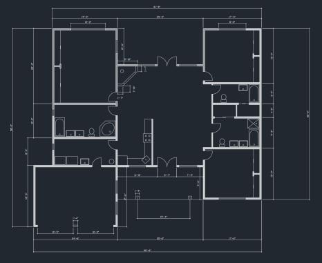 AutoCAD Floor Plan 3