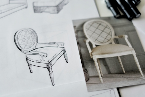 Free hand sketch – chairs 3