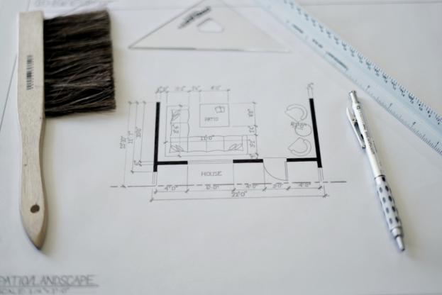 Interior Design Hand Drafting 1