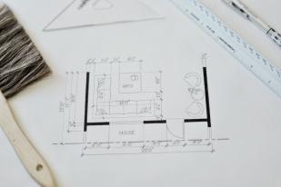 Interior Design Hand Drafting 2