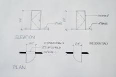 Interior Design Hand Drafting 4