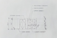 Interior Design Hand Drafting 5