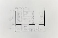Interior Design Hand Drafting 7